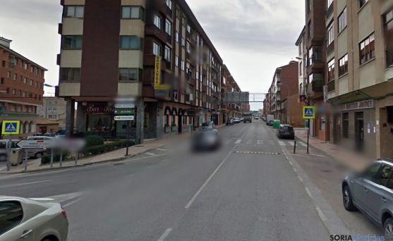 Avenida Salazar y Torres, donde ha ocurrido el accidente.