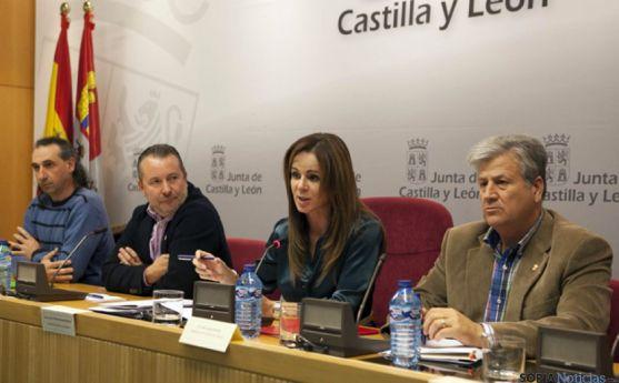 Portavoces del Consejo Regional Agrario.