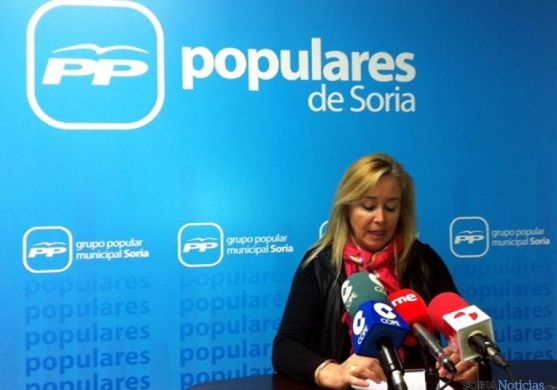 La concejal del PP María José Fuentes