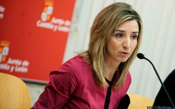 Alicia García, consejera de Turismo de la Junta.