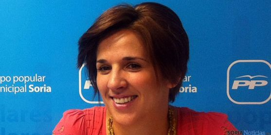 La concejal del PP Rocío Gallardo.
