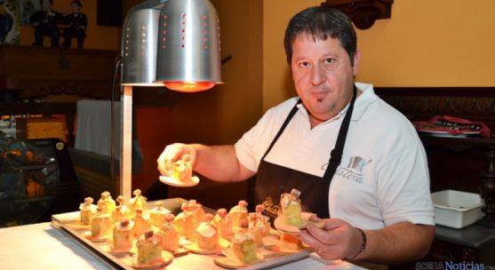El restaurante La Chistera ofrece su tapa coulant de boletus