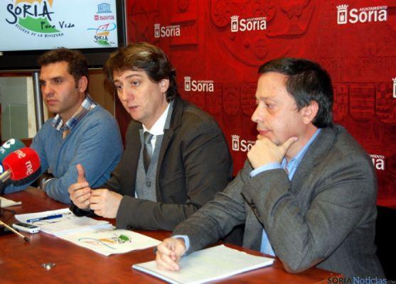 Roberto Lozano, Carlos Martínez y Adolfo Sainz