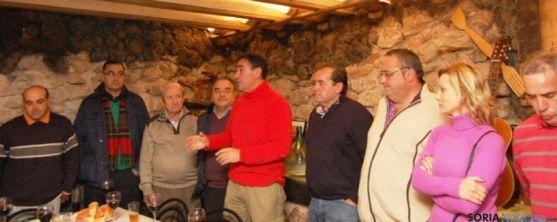 Encuentro de alcaldes en Deza para conocer la ampliación del GR-86
