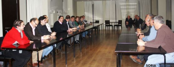 Reunión del PP en San Esteban