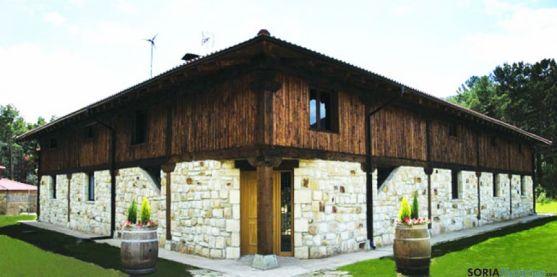 Exterior del  centro de turismo rural La Cabaña de Salva