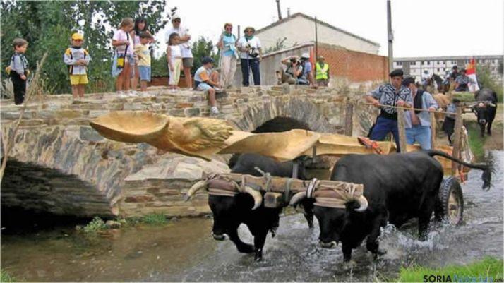 Bueyes serranos en el Xacobeo 2004