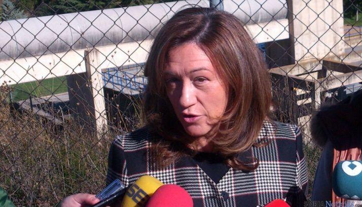 María José Heredia es la subdelegada del Gobierno en Soria.