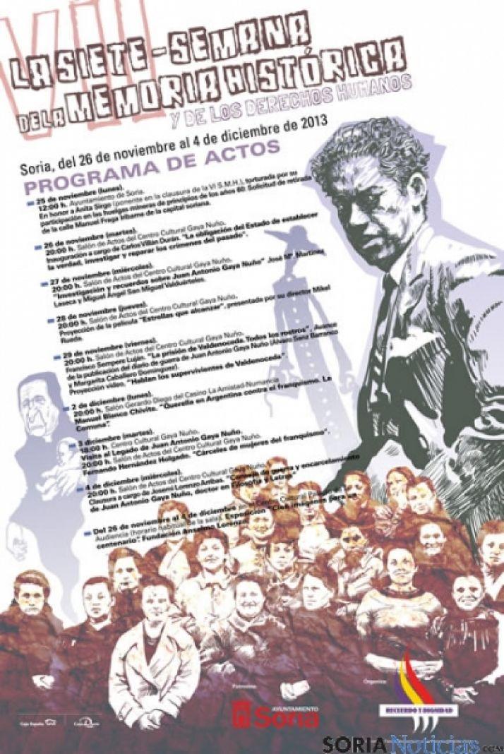 Cartel de la Semana Memoria Histórica