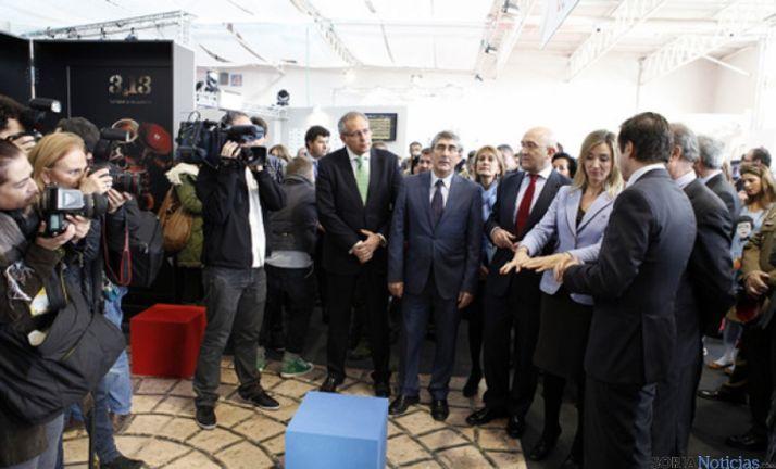 Inauguración de la feria de Turismo Interior.
