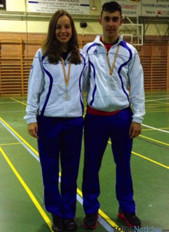 Sandra Pascual y Mario Arancón