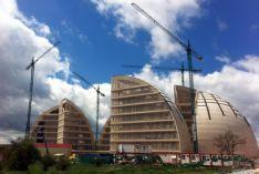 Imagen de la cúpula de la energía, en la CMA