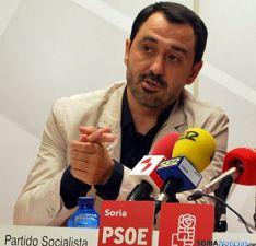 El procurador socialista Javier Muñoz.