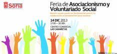 La Feria del Voluntariado será en horario de tarde