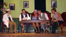 El grupo visontino en una representación.