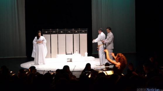 Una de  las escenas en La Audiencia.
