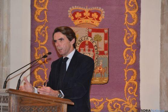 Aznar en Soria