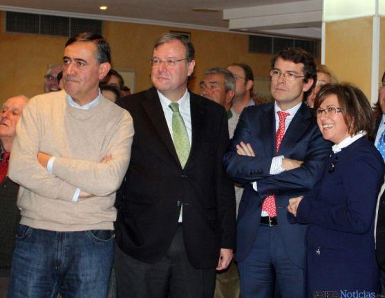 Pardo, Silván, Mañueco y Angulo.