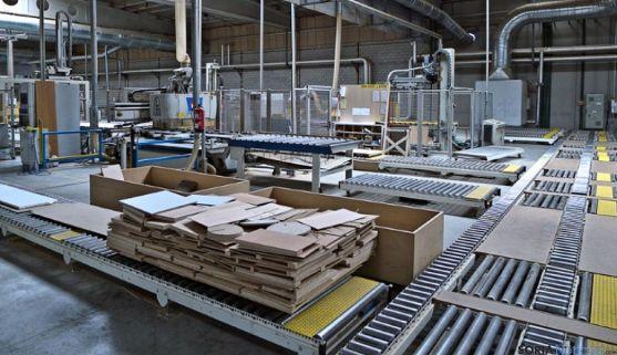 Imagen de una de la secciones de la factoría.