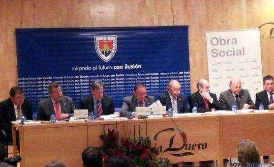 Imagen de la Junta General celebrada este martes.