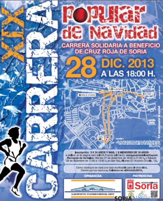 Cartel de la carrera popular