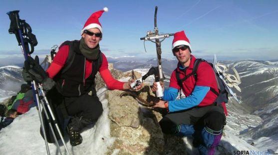 Celebrando la Navidad en la cubre del Urbión/ facebook-G. Escribano