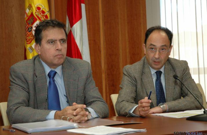Javier Barrio (izda.) y Manuel López.