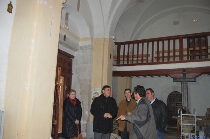 Visita a la iglesia Casillas de Berlanga