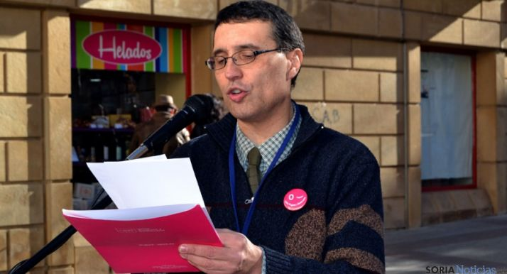 El delegado de UPyD en Soria, Joaquín de la Cuesta.