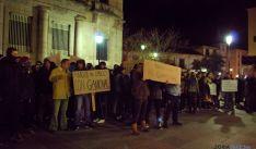 Manifestación de apoyo a Gamonal.