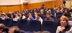 Público en la presentación del trabajo.