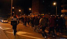 Manifestación de apoyo a Gamonal. / SN