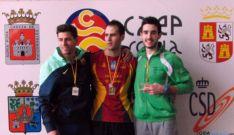 Atletas del CAEP en una imagen de archivo.