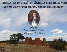Primera página del calendario de la Venerable en EE UU.