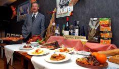 Tomás de Francisco, con el menú de ibérico para este febrero.