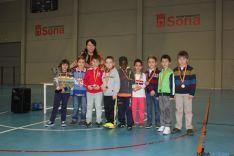 Lourdes Andrés y equipo ganador prebenjamín Infantes de Lara
