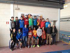 Atletas del CAEP en el Campeonato Autonómico de Invierno de Pruebas Combinadas