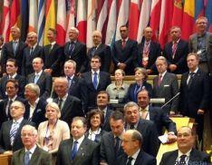 Angulo, con la delegación española