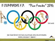 Cartel de la II Olimpiada de FP