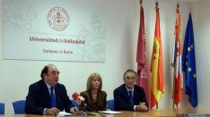 Pedro Navalpotro, Amelia Rut y Alfredo Córdova