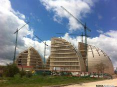 Edificios paralizados de la CMA/ Archivo