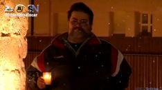 Óscar, en uno de los planos del vídeo 'Porque en Soria va a tocar'