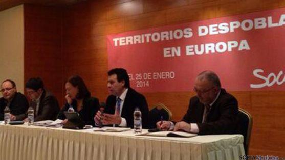 Lavilla, el segundo por la derecha este fin de semana en Teruel.