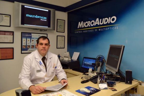 J.I. Osuna, audioprotesista de Microaudio en Monreal