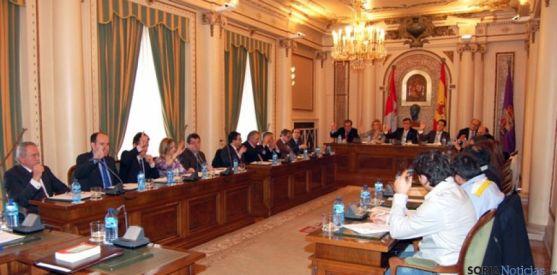 Momento de la aprobación unánime de los Planes Provinciales 2014