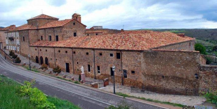 Vista del monasterio de la Concepción.
