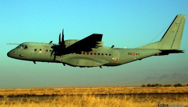 El CASA- 295 podrá verse en Garray.