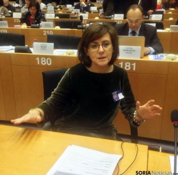 Marimar Angulo, en Bruselas