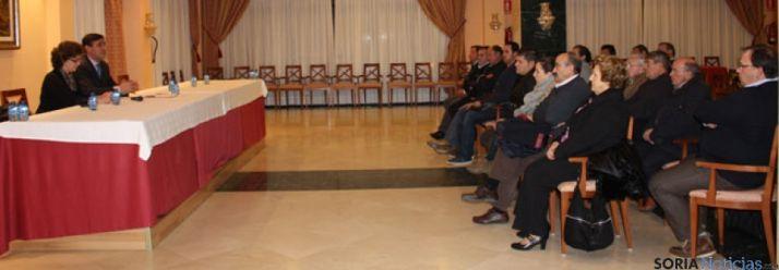 Reunión del PP de Almazán