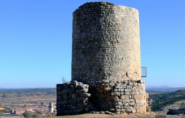 Atalaya de Uxama en Osma